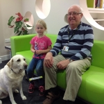 seren and guide dog